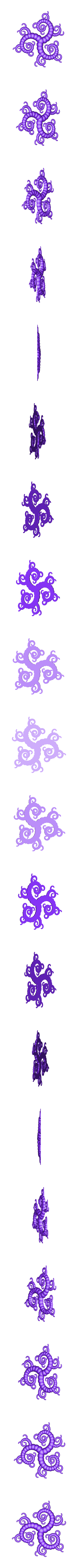 3_tentacles.stl Download free STL file Tentacle generator • 3D print object, ferjerez3d