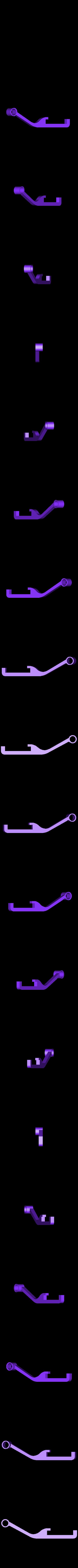 guide_clip_right.stl Télécharger fichier STL gratuit Filament Spool Wall Mount + Hub • Plan imprimable en 3D, ferjerez3d