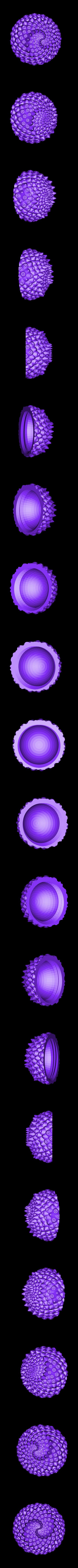 sphere_2_up.stl Download free STL file Dragon Egg Boxes • 3D print object, ferjerez3d