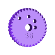 gear_36.stl Download free STL file Spiro Machine • 3D print template, ferjerez3d