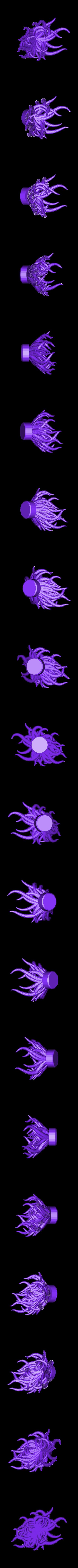 tentacle5.stl Download free STL file Plastic Reef #1: Random Anemone Generator • Object to 3D print, ferjerez3d