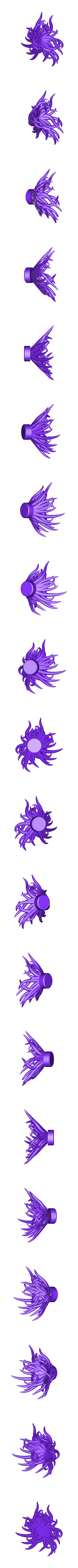 tentacle3.stl Download free STL file Plastic Reef #1: Random Anemone Generator • Object to 3D print, ferjerez3d