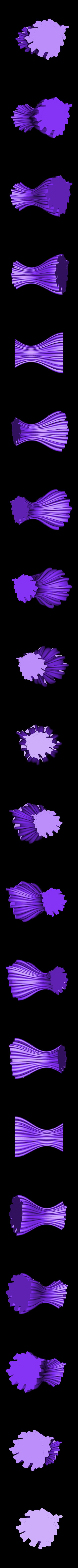 vase1.stl Download free STL file Wavy vase • 3D printer design, ferjerez3d