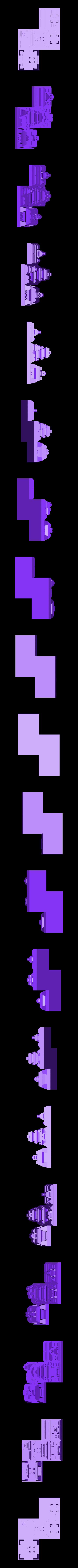 tetris_cities_Z.stl Download free STL file Tetris Heart Puzzle • Design to 3D print, ferjerez3d