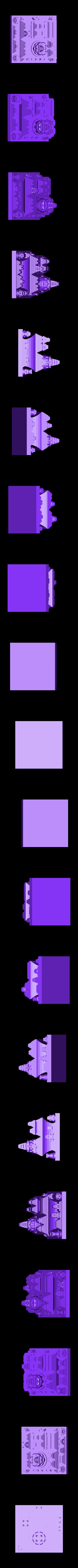 tetris_cities_O.stl Download free STL file Tetris Heart Puzzle • Design to 3D print, ferjerez3d