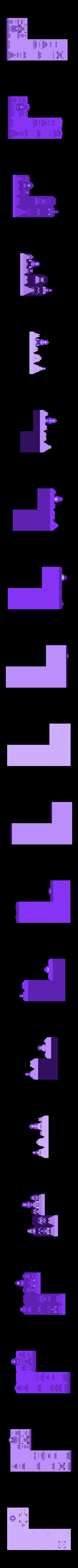 tetris_cities_J.stl Download free STL file Tetris Heart Puzzle • Design to 3D print, ferjerez3d