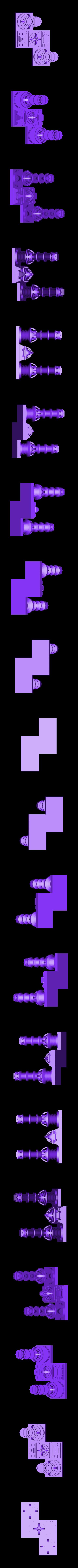 tetris_cities_S.stl Download free STL file Tetris Heart Puzzle • Design to 3D print, ferjerez3d
