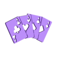 Trophy-Cards-Pin_fixed.stl Download free STL file Card or Poker Trophy • 3D printable object, itech3dp