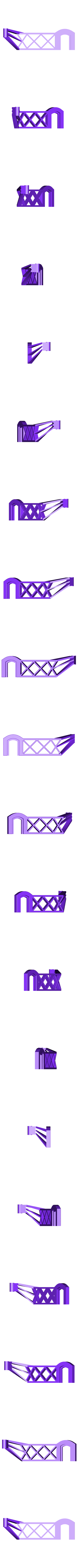Side-spool-Arm-Left-2017.stl Télécharger fichier STL gratuit Porte-bobine latéral pour Flashforge • Plan pour imprimante 3D, itech3dp
