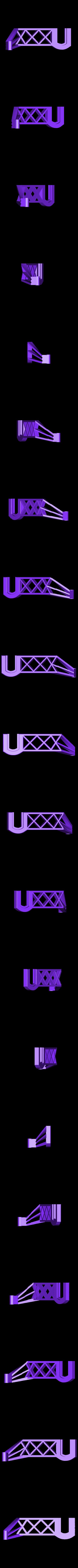 Side-spool-Arm-Right-2017.stl Télécharger fichier STL gratuit Porte-bobine latéral pour Flashforge • Plan pour imprimante 3D, itech3dp