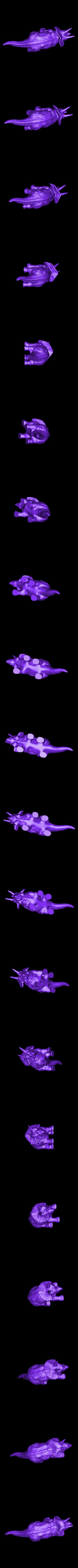 triceratops.stl Download free STL file Triceratops • 3D printable design, itech3dp