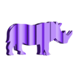 RHINO2.stl Download free STL file Text Flip, Rhino • 3D printer object, MrP023