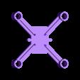 dronedrame_7.5mm_motors_lite.stl Download free STL file Drone Frame for all motor sizes ! - 6mm,6.5mm,7mm,7.5mm,8mm,8.5mm • 3D printable model, Gophy