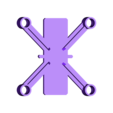 dronedrame_7mm_motors_.stl Download free STL file Drone Frame for all motor sizes ! - 6mm,6.5mm,7mm,7.5mm,8mm,8.5mm • 3D printable model, Gophy