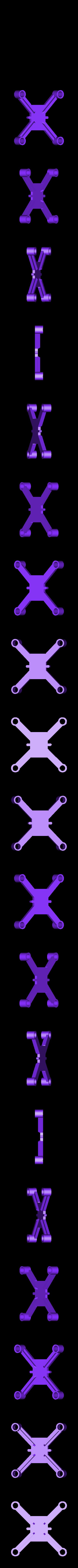 dronedrame_8.5mm_motors_lite.stl Download free STL file Drone Frame for all motor sizes ! - 6mm,6.5mm,7mm,7.5mm,8mm,8.5mm • 3D printable model, Gophy