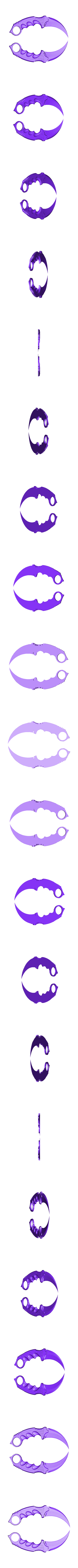 knife2.stl Download free STL file Karambit CS GO : Fixed + Keychain version • 3D printable object, Gophy