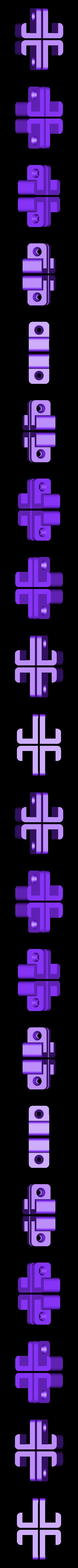 4_clips.stl Télécharger fichier STL gratuit Clips - Support mural pour tablette • Modèle pour imprimante 3D, Gophy