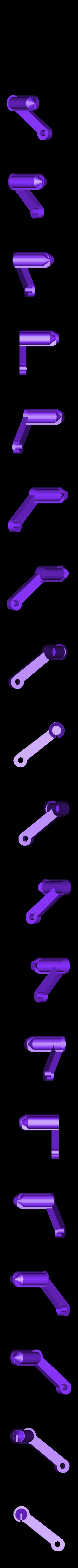 ArmBackLeft.stl Télécharger fichier STL gratuit Châssis pliable - moteurs de 7 mm[Pas besoin de vis]. • Design imprimable en 3D, Gophy