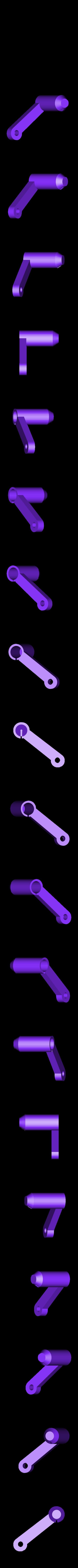 ArmBackRight.stl Télécharger fichier STL gratuit Châssis pliable - moteurs de 7 mm[Pas besoin de vis]. • Design imprimable en 3D, Gophy