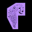 cheetah-.stl Download free STL file Cheetah (Grafin-Drachen) • 3D print model, Gophy