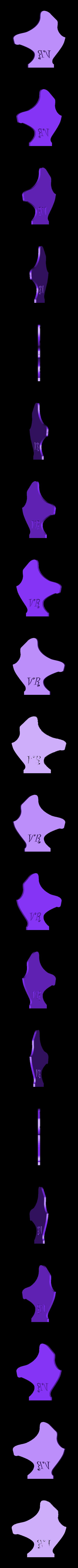 Face01.STL Download STL file VR Helmet • 3D printing design, Chris48