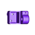 Y axis rod holder left.stl Download free STL file DIY 3D Printed Dremel CNC • 3D printer object, NikodemBartnik