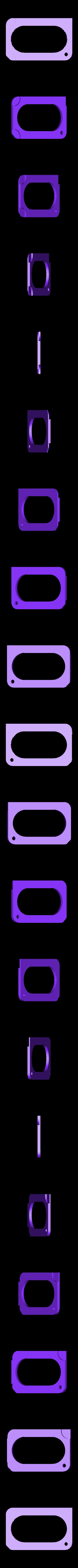KEYSTORAGE3mm.stl Download free STL file Credit Card Key Case • Template to 3D print, Gophy