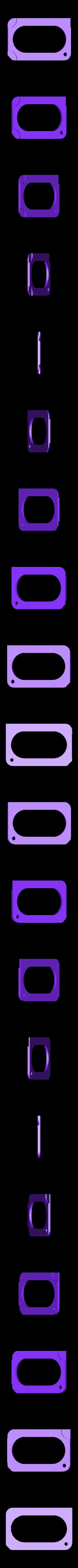 KEYSTORAGE2.5mm.stl Download free STL file Credit Card Key Case • Template to 3D print, Gophy