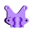 portebuseHotend_Clamp_E3Dv6refait.STL Download free STL file nozzle holder E3dv6 • 3D printable design, robroy