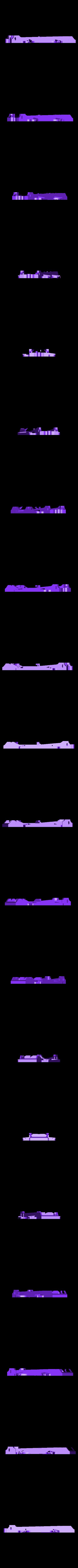 chassis_118mm_93empversion presentation.obj Download free OBJ file Base for JAGUAR MK VII - slot car 1:32 • 3D printer model, SlotED