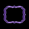 marco5.stl Download STL file Vintage Frame cookie cutter set 2 • 3D printable design, davidruizo