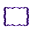 marco4.stl Download STL file Vintage Frame cookie cutter set 2 • 3D printable design, davidruizo