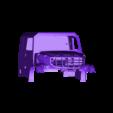1.stl Download STL file Kamaz Dakar (Mercedes Zetros) NEW VERSION  cockpit and hood • 3D printable template, MrPaulM