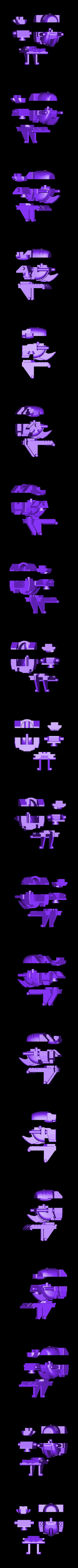 1_Head.stl Download STL file Jinbao Not Bruticus Upgrade Kit G1 Ver • 3D print template, Toymakr3D