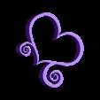 hartvorm_small_normal.stl Download free STL file Heart • 3D print model, Justinquedible