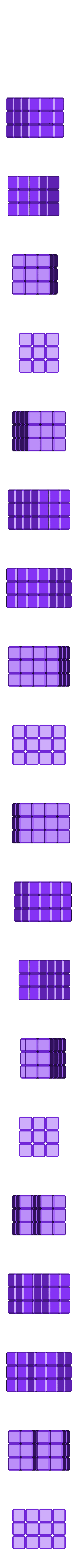 30_units.stl Download free STL file Cube Puzzle: 5 x 5 x 5, Five-Piece Dissection • 3D print model, LGBU