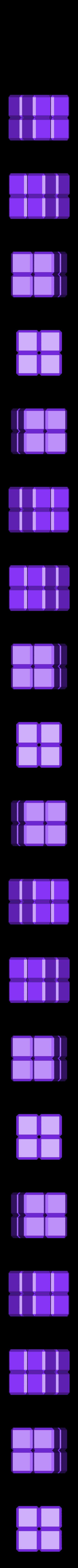 2x2x2.stl Download free STL file Cube Puzzle: 5 x 5 x 5, Five-Piece Dissection • 3D print model, LGBU