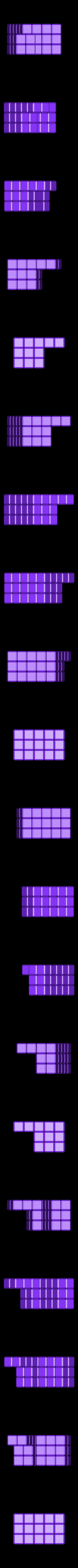40_units.stl Download free STL file Cube Puzzle: 5 x 5 x 5, Five-Piece Dissection • 3D print model, LGBU
