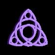 spinner_v3_1.STL Download free STL file Celtic Triquetra Spinner • 3D printer object, Kram12