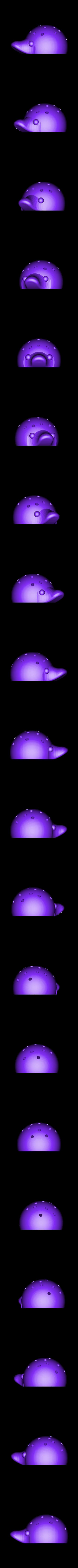 hedgehogs_for_lollipops.stl Télécharger fichier STL gratuit hérissons pour sucettes • Plan à imprimer en 3D, mariospeed