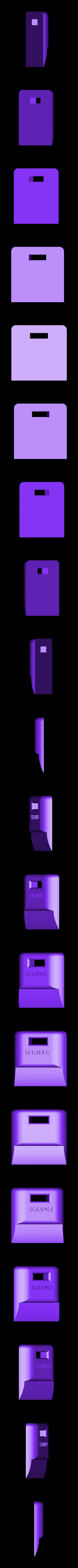 scraper.stl Télécharger fichier STL gratuit grattoir pour coupe-papier • Objet pour impression 3D, mariospeed
