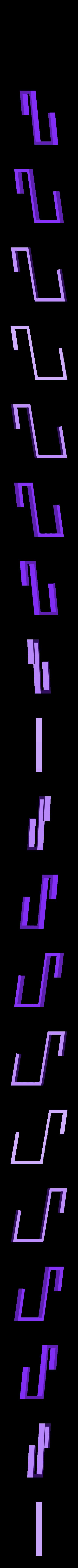spong_holder_part1_x2.stl Télécharger fichier STL gratuit à la planche pour l'éponge et les marqueurs • Plan à imprimer en 3D, mariospeed