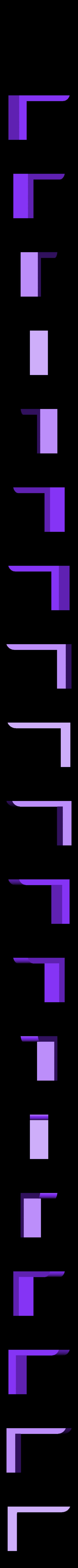 spong_holder_part4.stl Télécharger fichier STL gratuit à la planche pour l'éponge et les marqueurs • Plan à imprimer en 3D, mariospeed