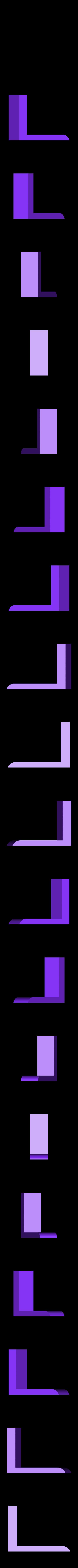 spong_holder_part3.stl Télécharger fichier STL gratuit à la planche pour l'éponge et les marqueurs • Plan à imprimer en 3D, mariospeed