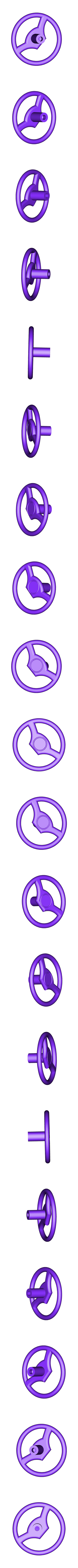 wheel_stering.stl Télécharger fichier STL Tableau de bord RC échelle 1/10 • Objet pour imprimante 3D, mariospeed