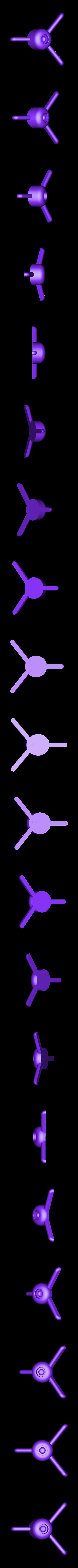 Hamster_Wheel-base.stl Download free STL file Hamster Disc with 608 bearing (easy print) • 3D print design, Saran