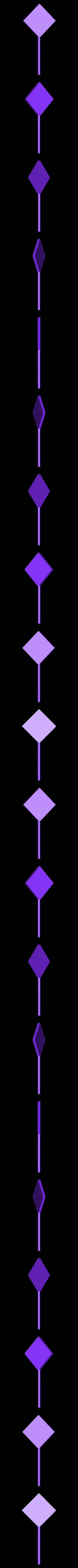 traffic-sign_romb.stl Download free STL file Traffic Sign Models • 3D print model, Saran