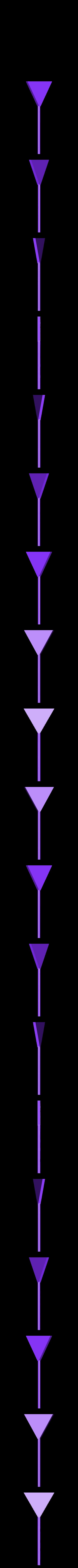 traffic-sign_triangle_upside.stl Download free STL file Traffic Sign Models • 3D print model, Saran
