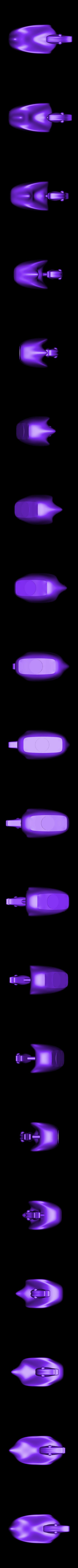 T-Spline_ankka3.stl Download free STL file Kaljankka duck • Object to 3D print, NusNus