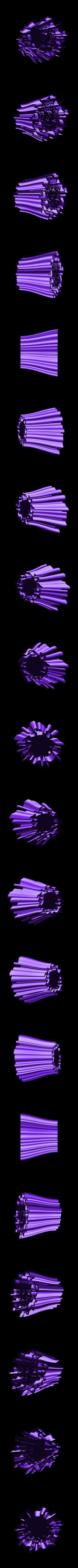 penholder-2.stl Download free STL file Wavy Penholders Collection (15 files) • 3D print design, ferjerez3d